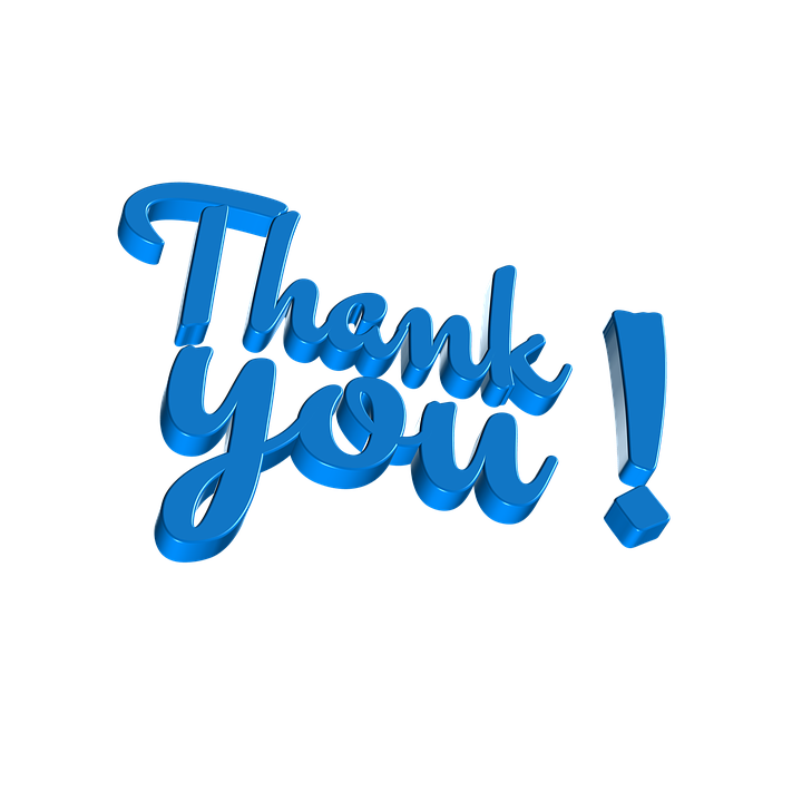 Thank You, Letters, Thank You Very Much, Word, Font - Free PNG HD Thank You