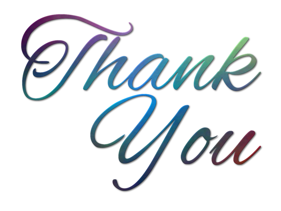 Thank You, Text, Message, Note, Gratitude, Appreciation - Free PNG HD Thank You
