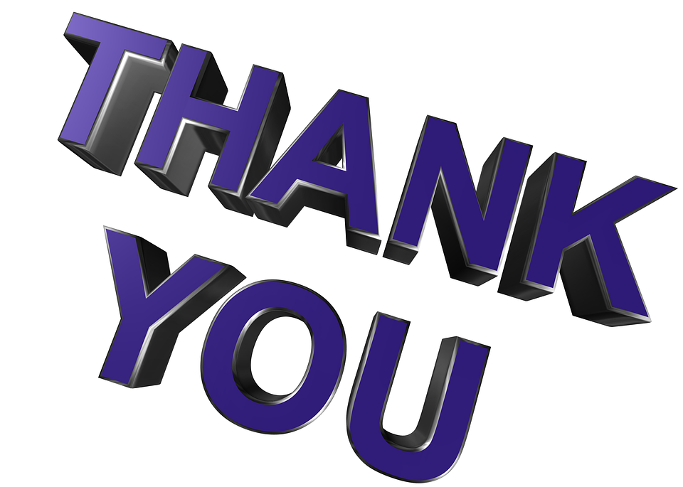 Thank You, Thanks, Gratitude, Grateful, Appreciation - Free PNG HD Thank You