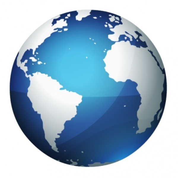 Earth Globe image - vector clip art online, royalty free public - Free PNG HD World Globe