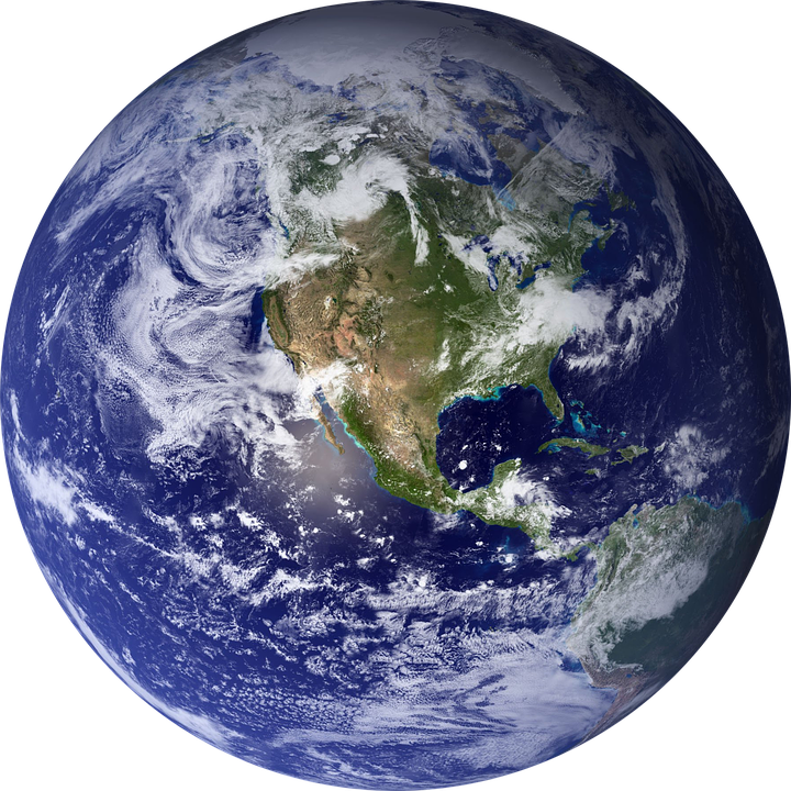 World, Earth, Globe, Sphere, Planet, Earth Globe, Blue - Free PNG HD World Globe