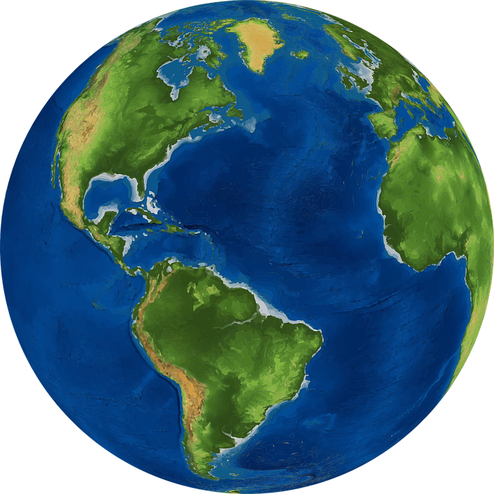 World, Earth, Planet, Globe, Map, Geography - Free PNG HD World Globe