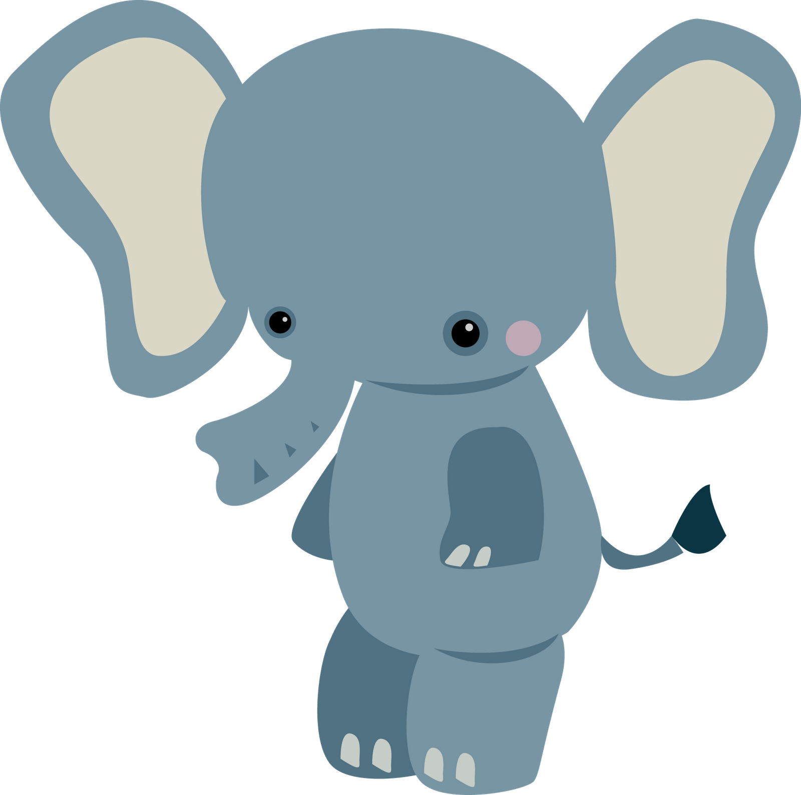 Baby Animals Clipart - Free PNG HD Zoo Animals