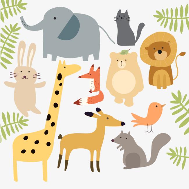 Vector zoo, HD, Vector, Giraffe Free PNG and Vector - Free PNG HD Zoo Animals