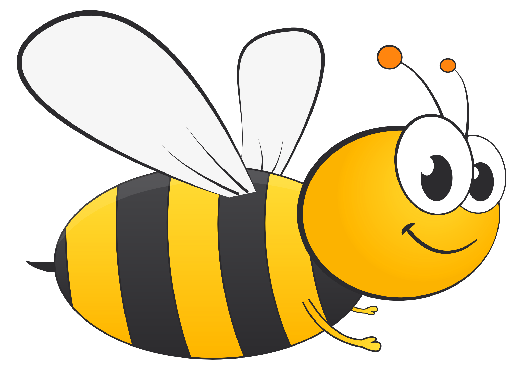 Free PNG Honey Bee - 47268