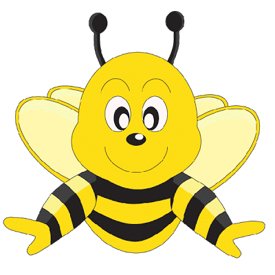 Best Cute Bee Clipart #29197 - Clipartion pluspng.com - Free PNG Honey Bee