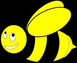 Black And Yellow Honey Bee Clip Art - Free PNG Honey Bee