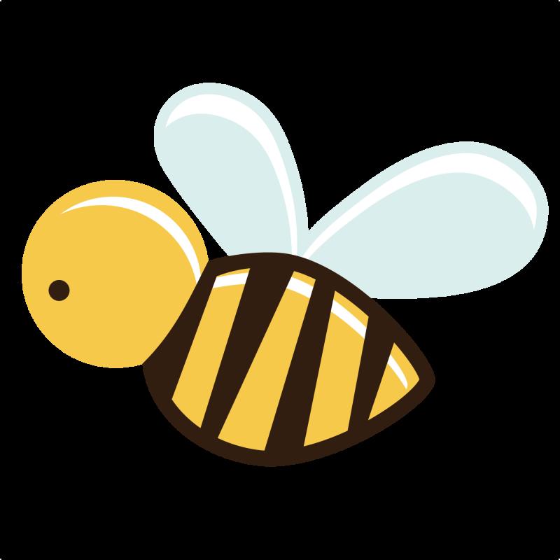 Cartoon Bee PNG - Free PNG Honey Bee
