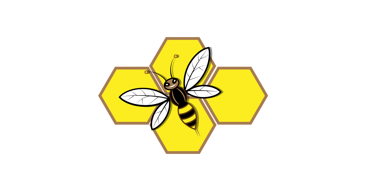Honey Bee Symbol Illustration Vector Pack Free PNG Graphic Cave - Free PNG Honey Bee