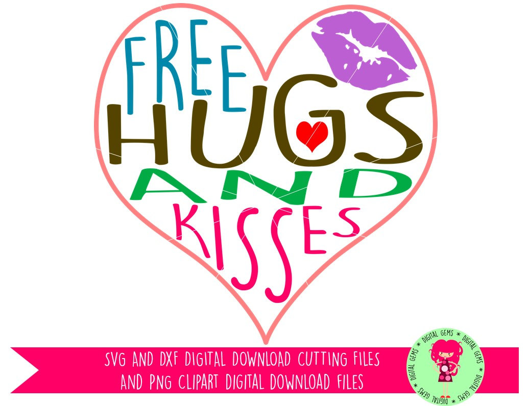 Free PNG Hugs And Kisses - 50783