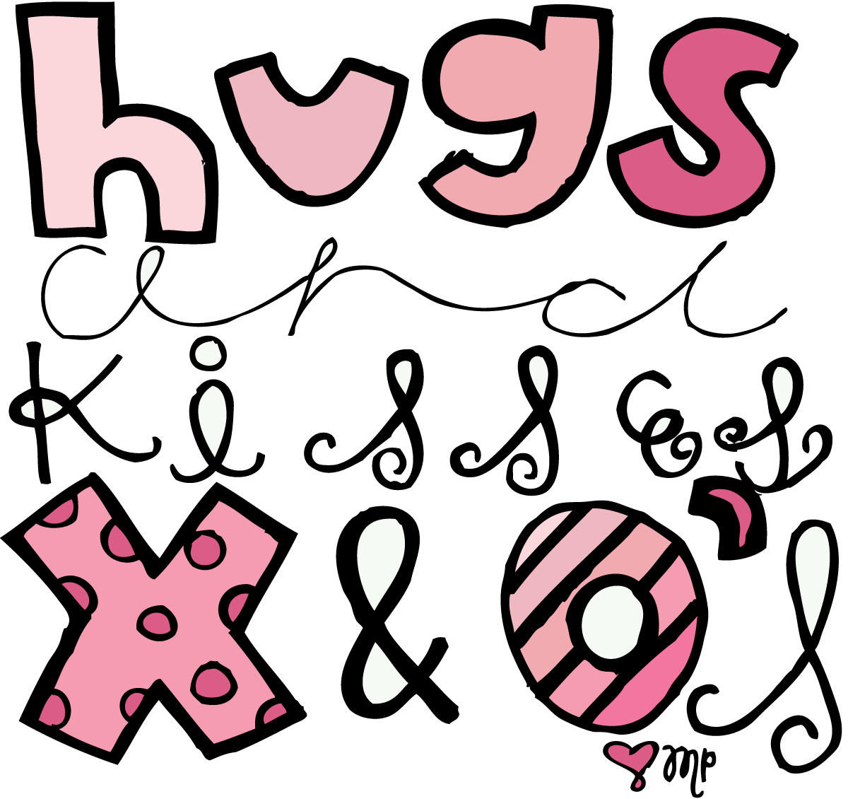 Free PNG Hugs And Kisses - 50785