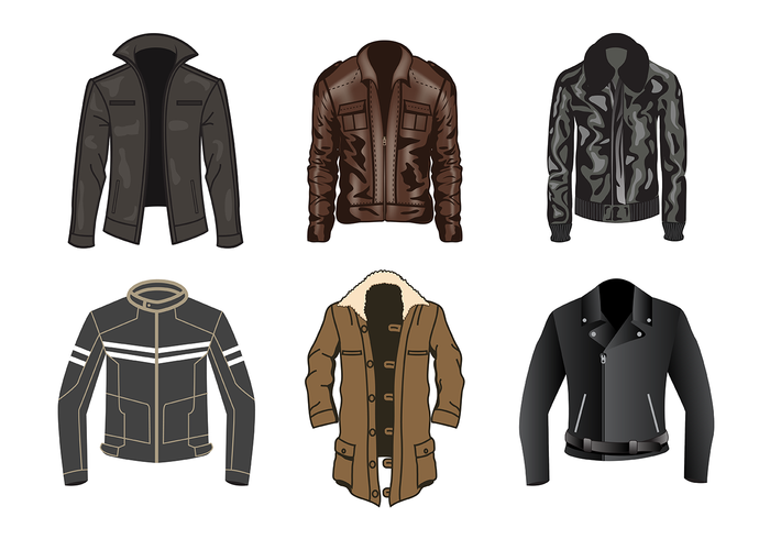 Free Leather Jacket Vector - Free PNG Jacket