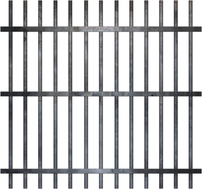 Cartoon Jail Cell - Clipart l
