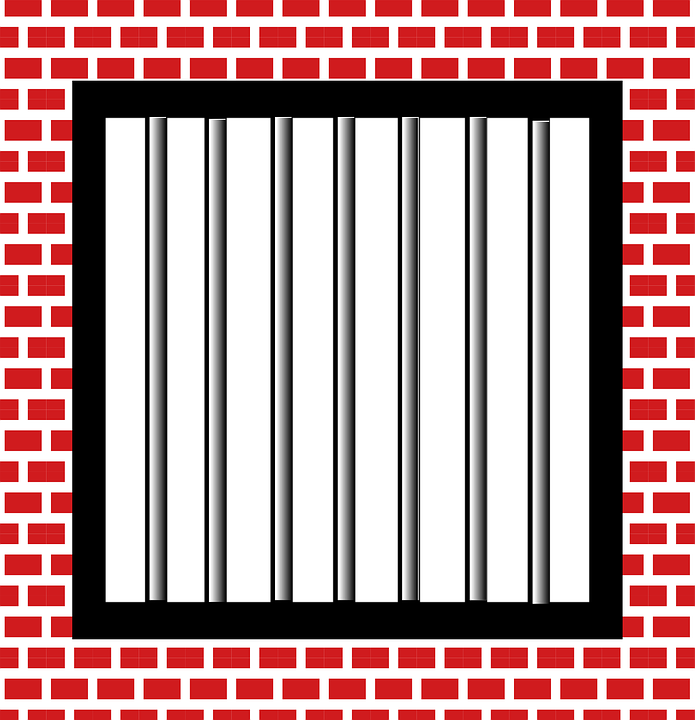jail bars police brick - Free PNG Jail