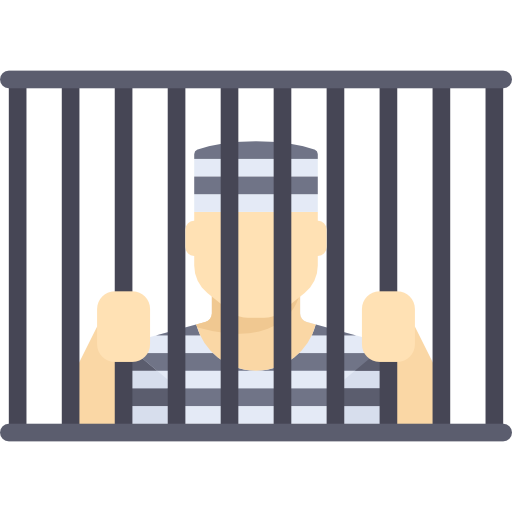 Jail vector clipart. Graphic