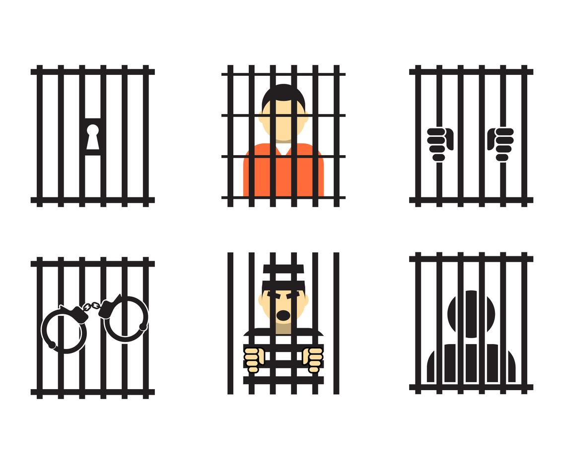 Jail Illustration Vector