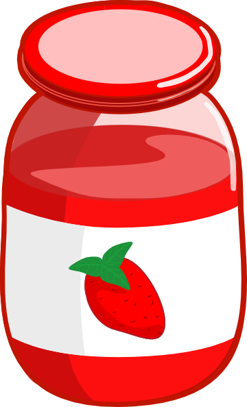 Strawberry Jam Clip Art - Free PNG Jam