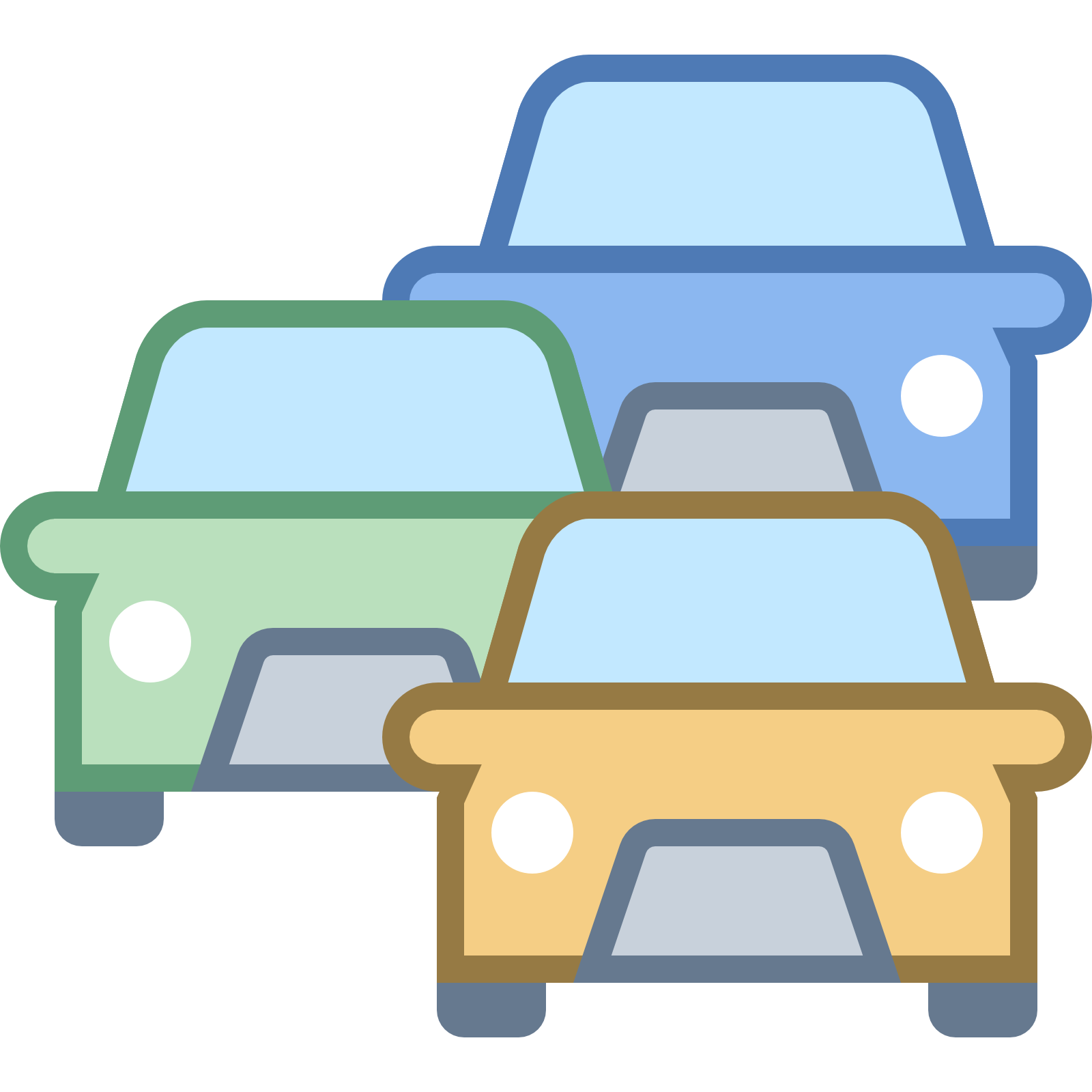Traffic Jam icon - Free PNG Jam