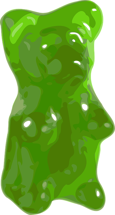 Gummy Bear, Candy, Bear, Jelly, Sweets, Sugar, Green - Free PNG Jelly