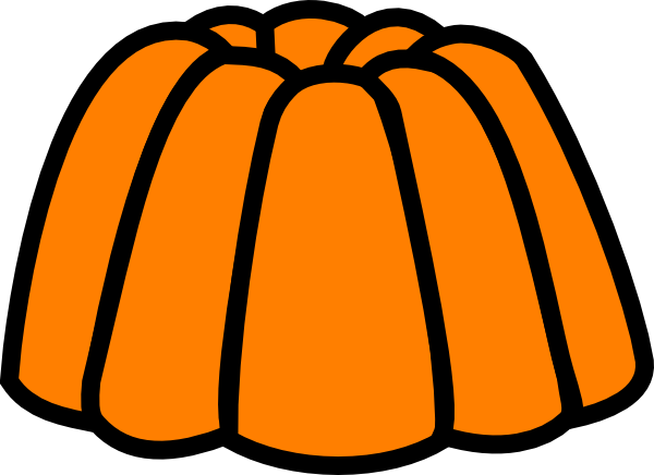 Orange Jelly Clip Art - Free PNG Jelly