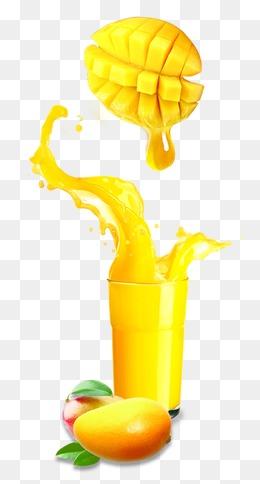 mango juice, Mango Juice, Yellow, Fruit Juice PNG and PSD - Free PNG Juice