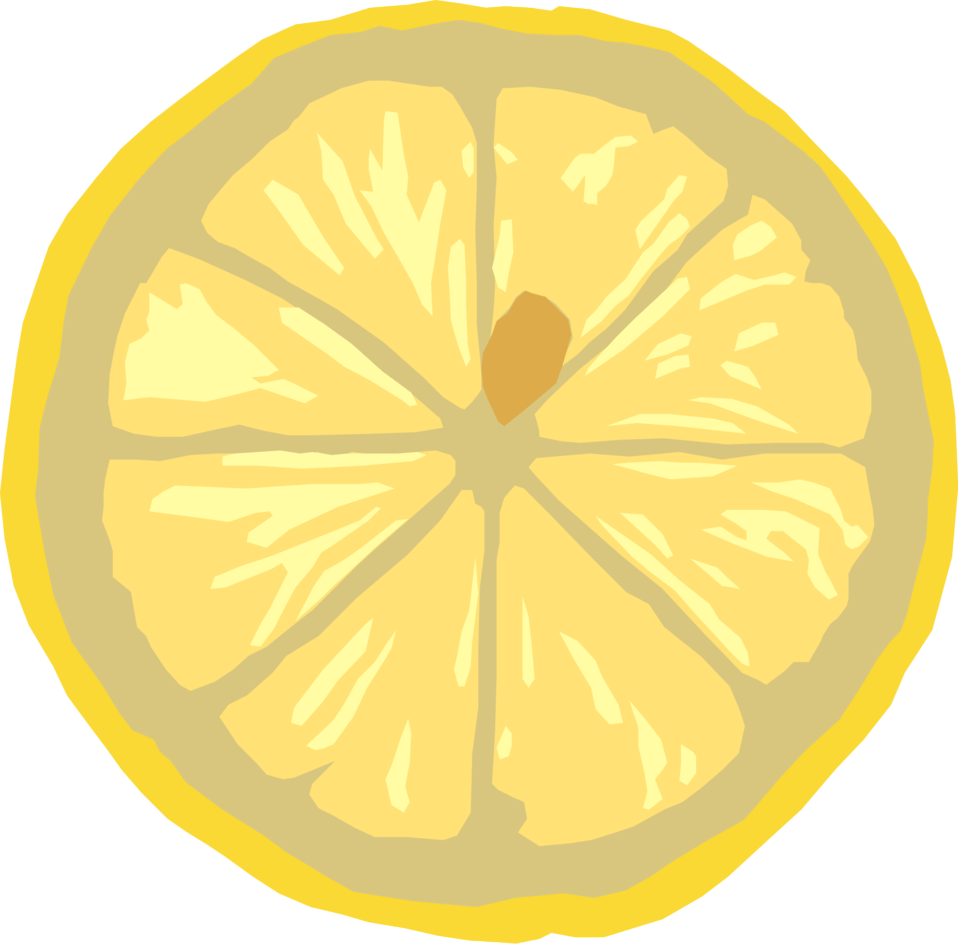 Lemon - Free PNG Lemon Slice
