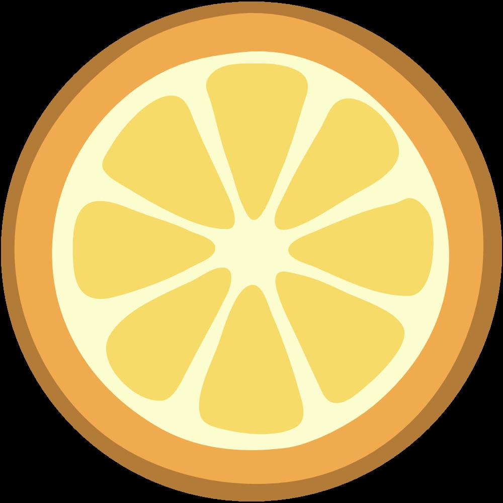 Lemon slice clip art 3 - Free PNG Lemon Slice