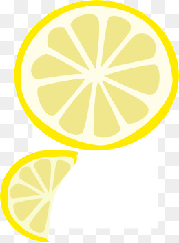 Orange lemon slices · PNG - Free PNG Lemon Slice