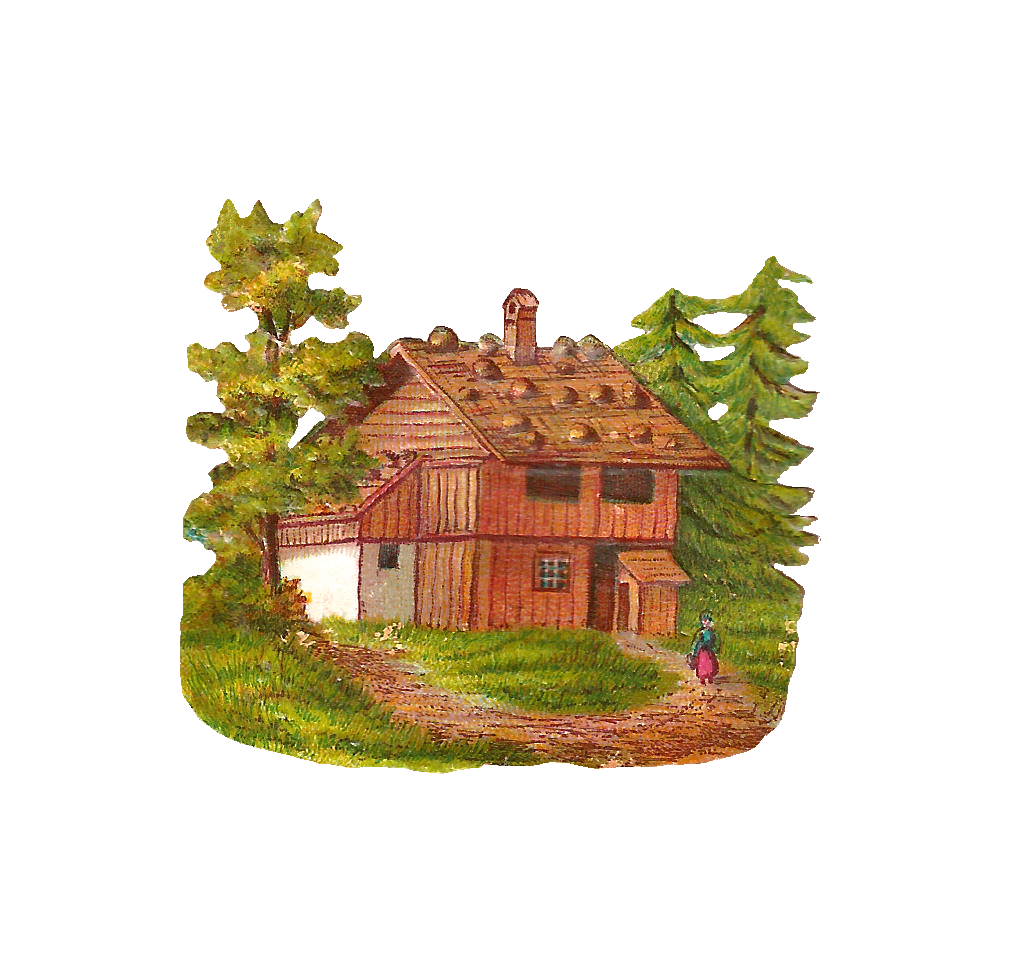 Pin House Clipart Woods 12