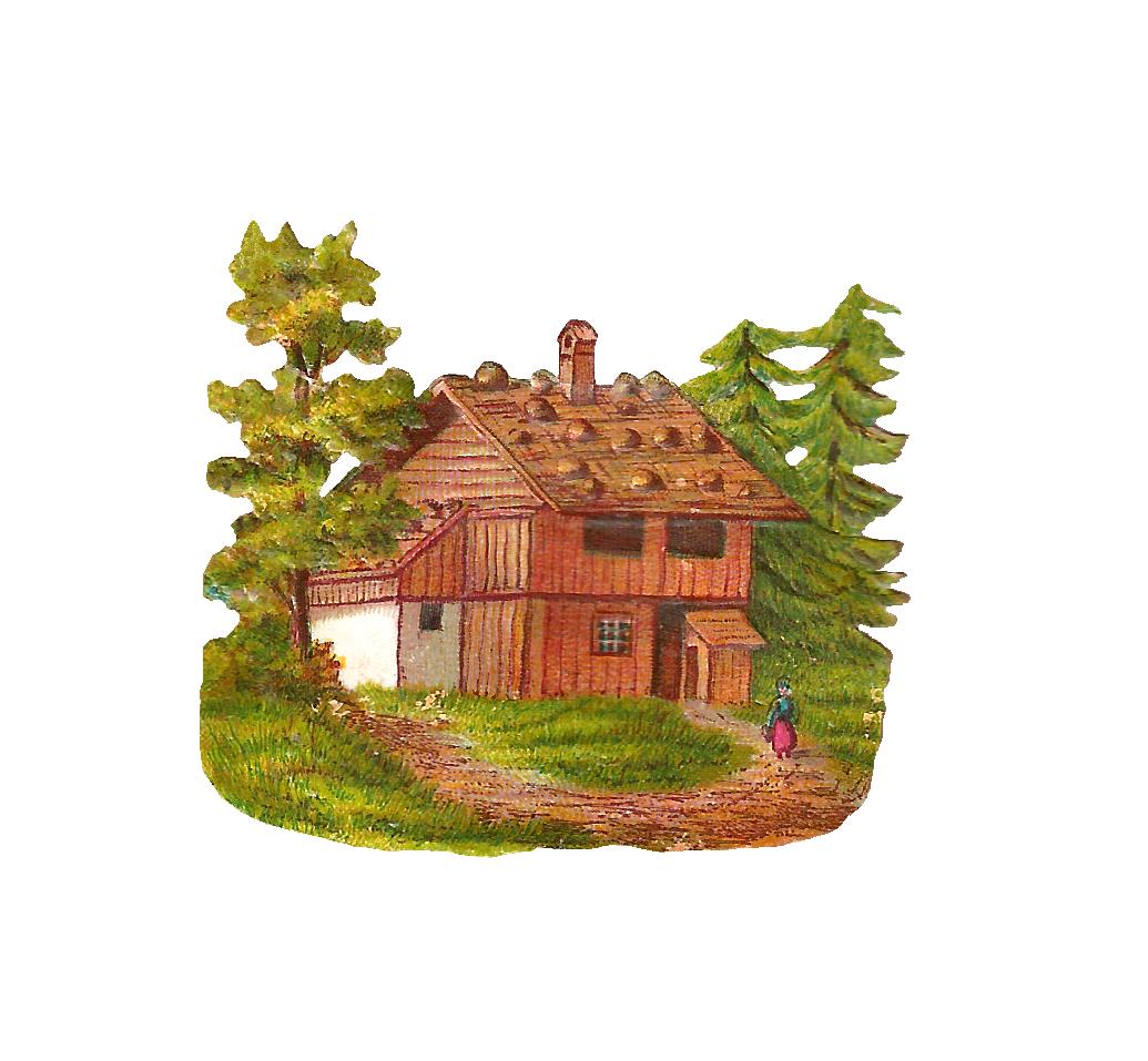 Free PNG Log Cabin Woods - 45219