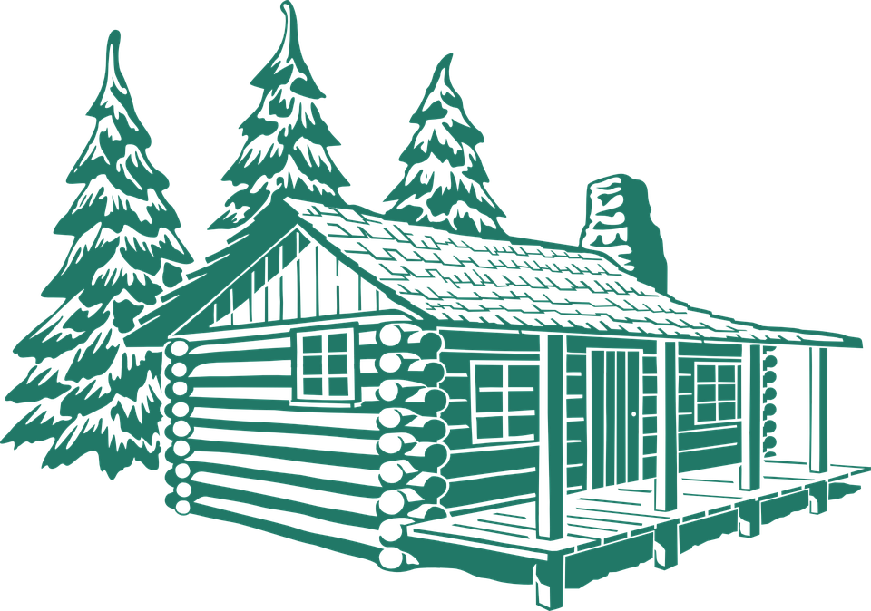 Free PNG Log Cabin Woods - 45213