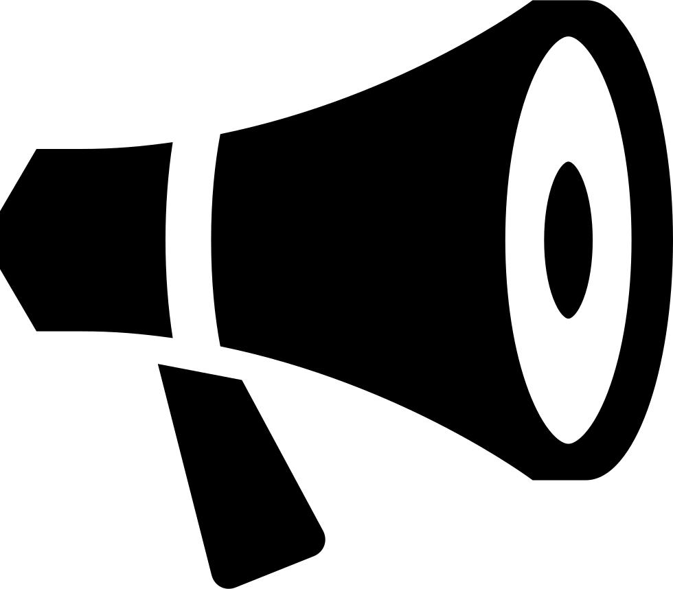 PNG Megaphone Announcement
