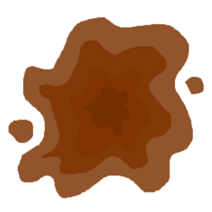 Mud Splatter Clipart - Free PNG Mud