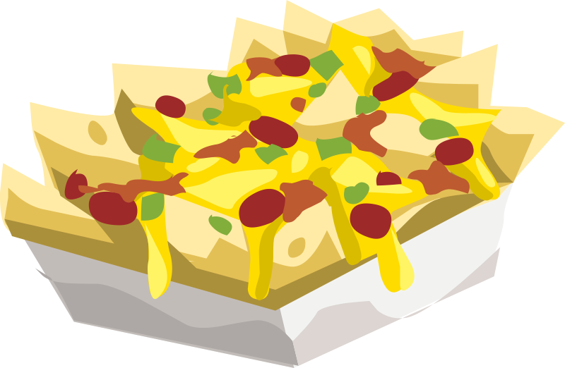 Free PNG Nachos And Cheese - 45342