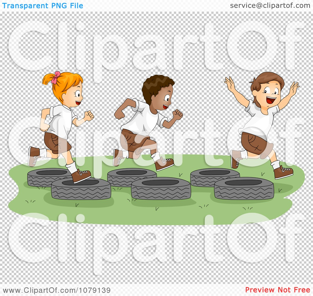 PNG file has a transparent background. - Free PNG Obstacle Course