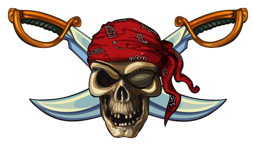 Pirate - Free PNG Pirate Skull