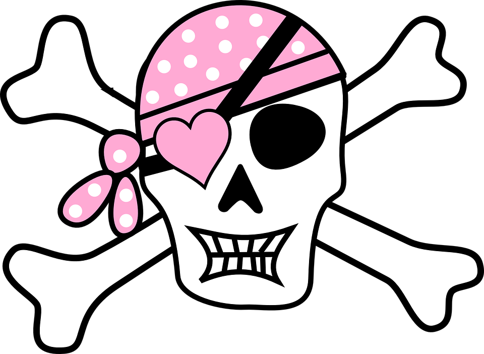 Pirate, Skull, Skull And Cros