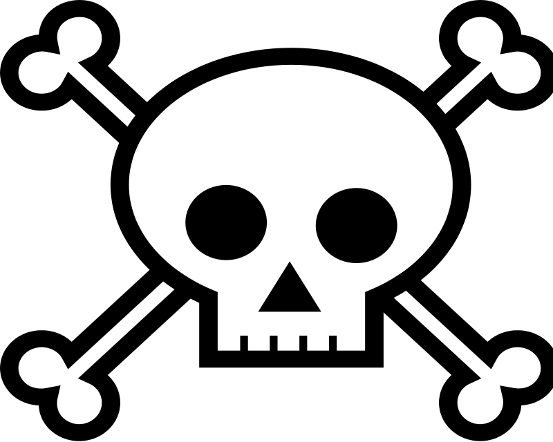 Pirate Skulls - Clipart Library - Free PNG Pirate Skull