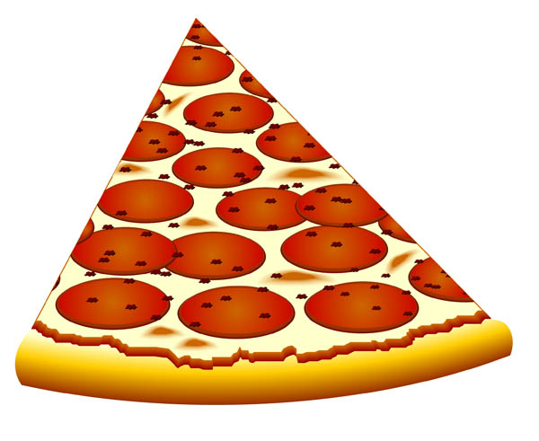 Cheese pizza pizza slice clip art - Free PNG Pizza Slice