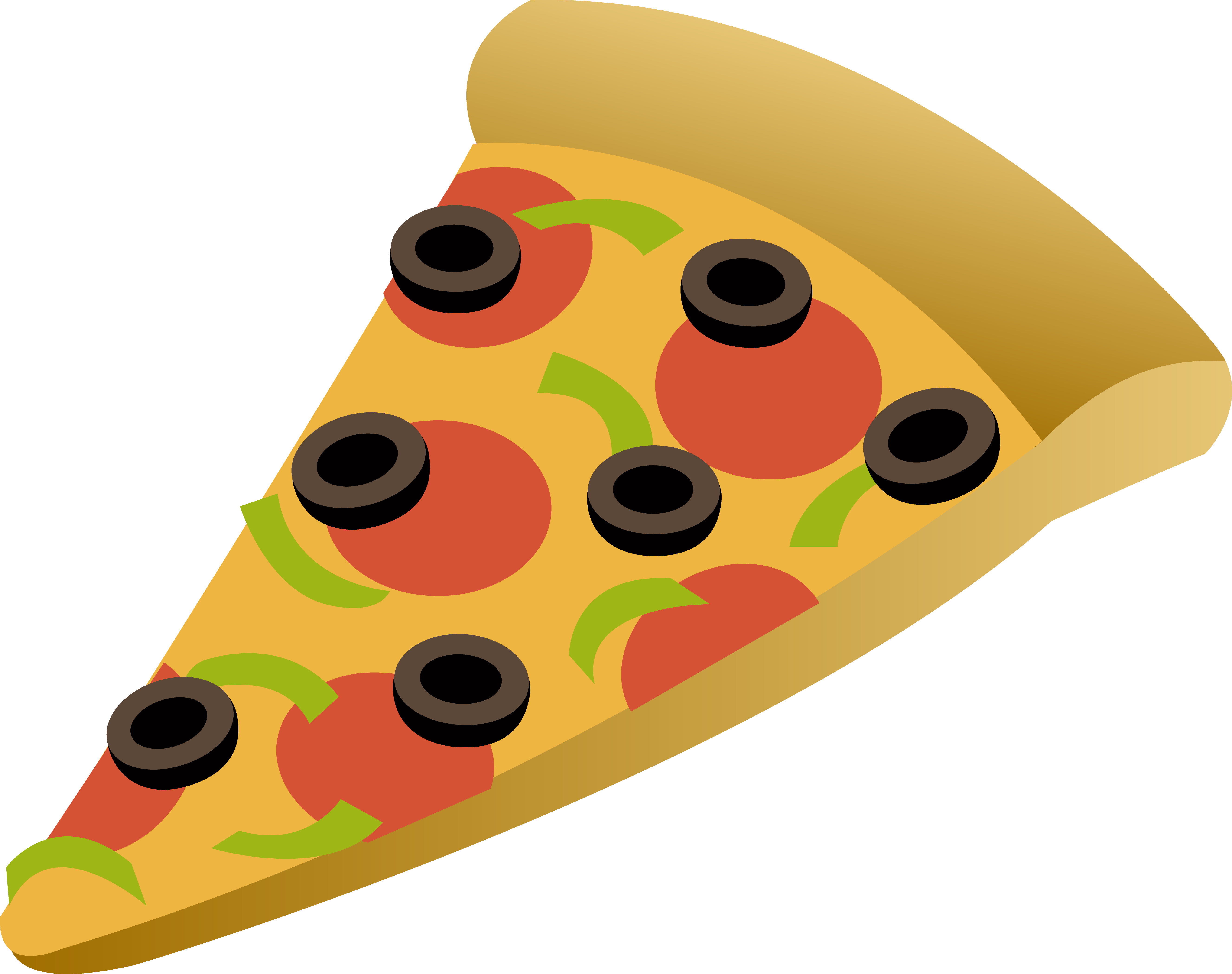 Food Pizza Slice Clipart - Free PNG Pizza Slice