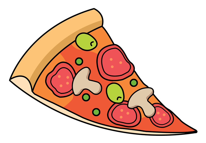 Free Pizza Slice Clipart - Free PNG Pizza Slice