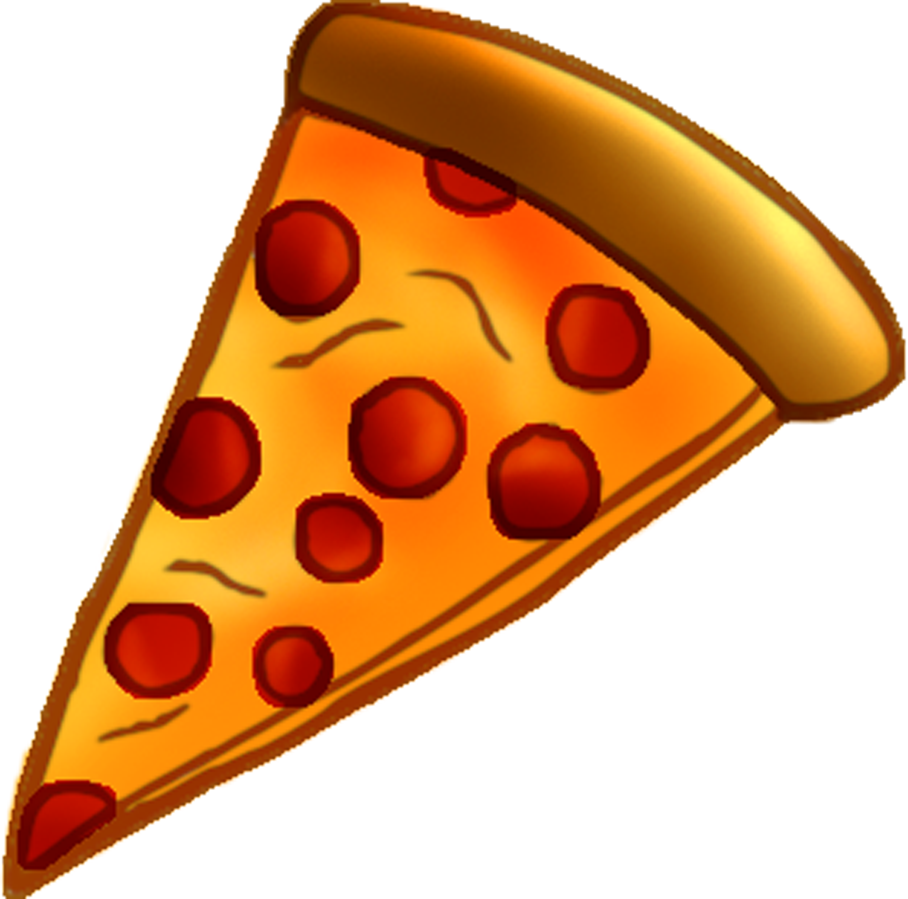 Pizza Slice Clipart - Free PNG Pizza Slice