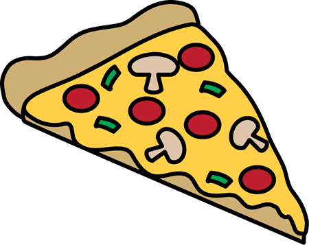 Pizza Slice Cliparts - Free PNG Pizza Slice