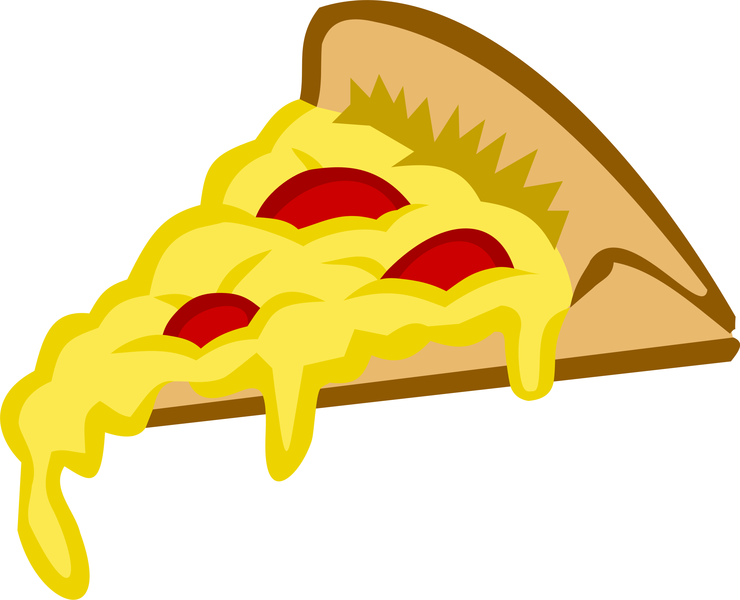 Free PNG Pizza Slice - 76995