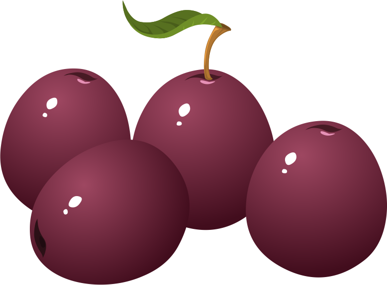 Free PNG Plums - 76691
