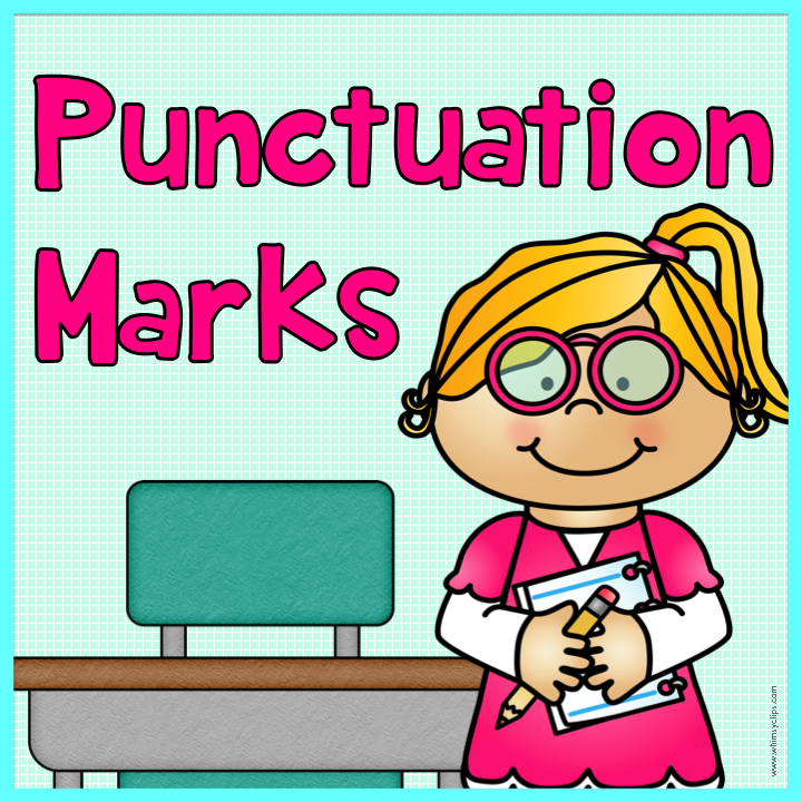 Punctuation Marks Clipart - Free PNG Punctuation Marks