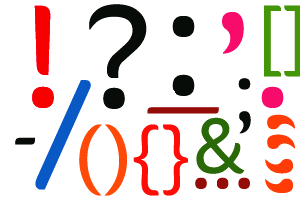 PNG Punctuation Marks