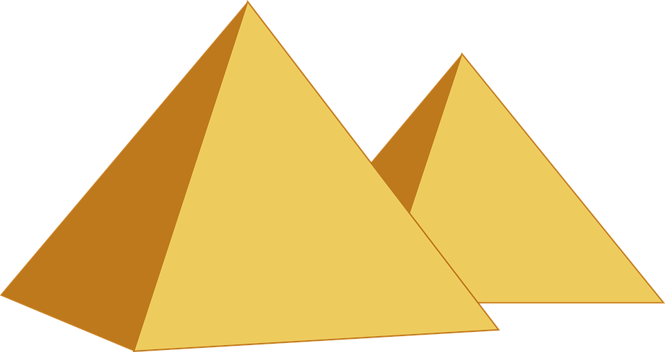 Pyramids, Egypt, Egyptian, Desert, Ancient, Monument - Free PNG Pyramid