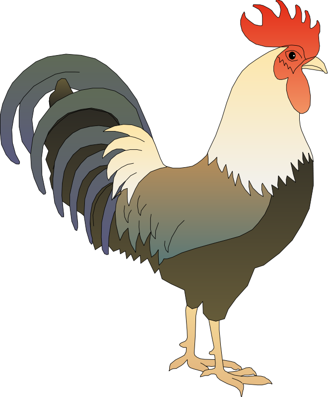 Free To Use Amp Public Domain Rooster Clip Art - Free PNG Rooster