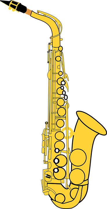 Alto, Alto Saxophone, Classical, Gold, Instrument, Jazz - Free PNG Saxophone